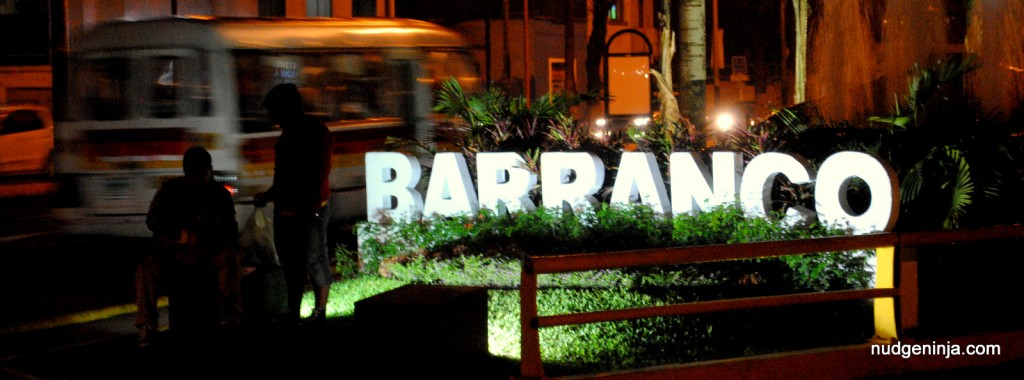 Peru 2014: Barranco marker