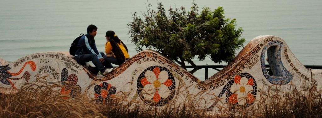 Peru 2014: El Parque del Amor in Miraflores