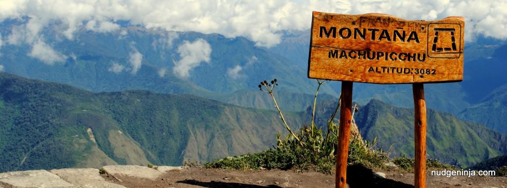 Peru 2014: Montana Machu Picchu